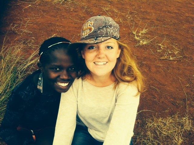 Ditte tager til Kenya